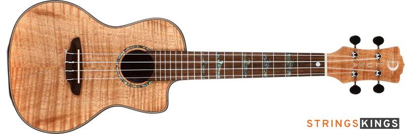 Luna High Tide Exotic Mahogany Soprano best ukulele for beginners