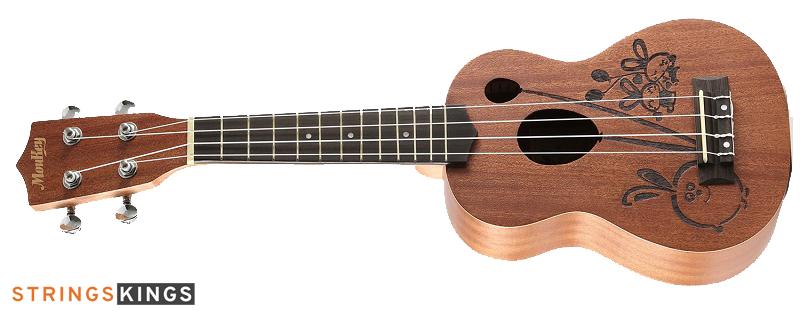 Moukey Soprano MUS-3R best ukulele for beginners
