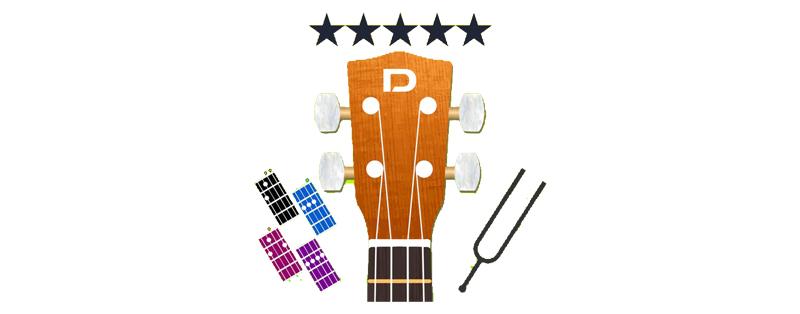 how to tune a ukulele app UTaC