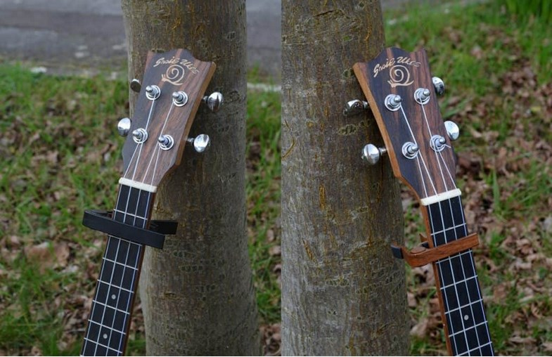 DIY capo for ukulele