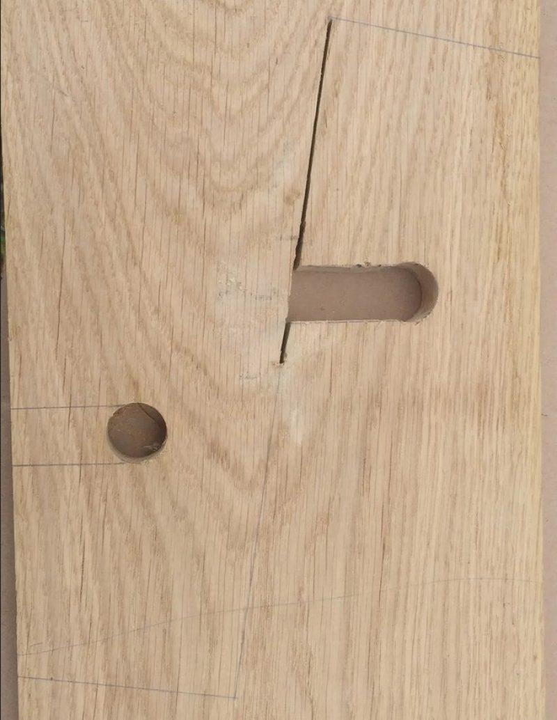 DIY stand cutting
