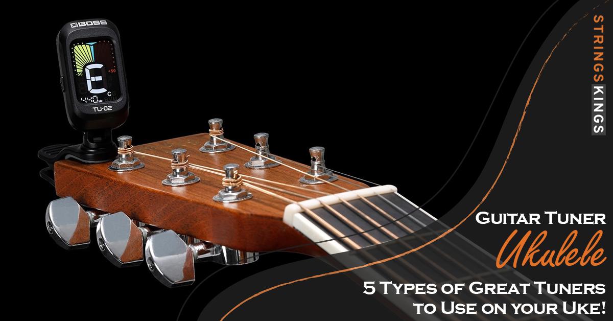 Guitar Tuner Ukulele Feat