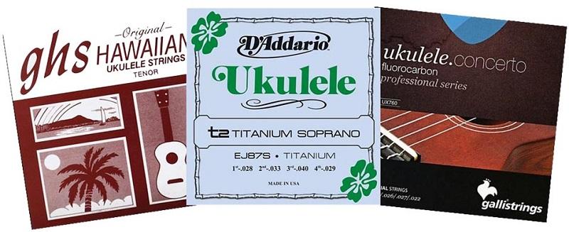 Steel Ukulele Strings types