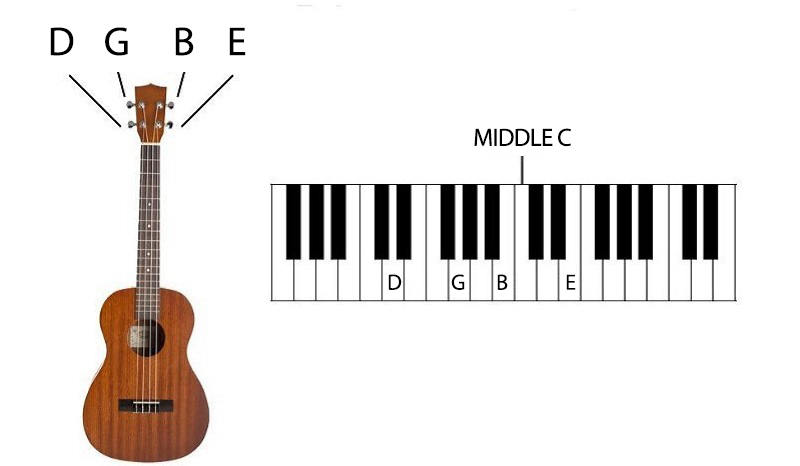 Ukulele Lessons for Beginners DGBE