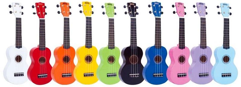 best ukulele for beginners rainbow
