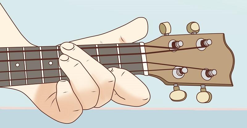 How to Play E Chord on Ukulele Fingering
