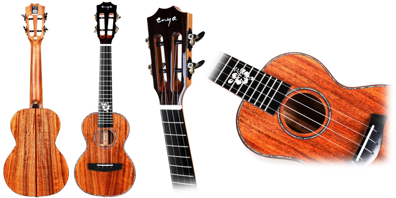 Enya K5 Solid Acacia Concert parts