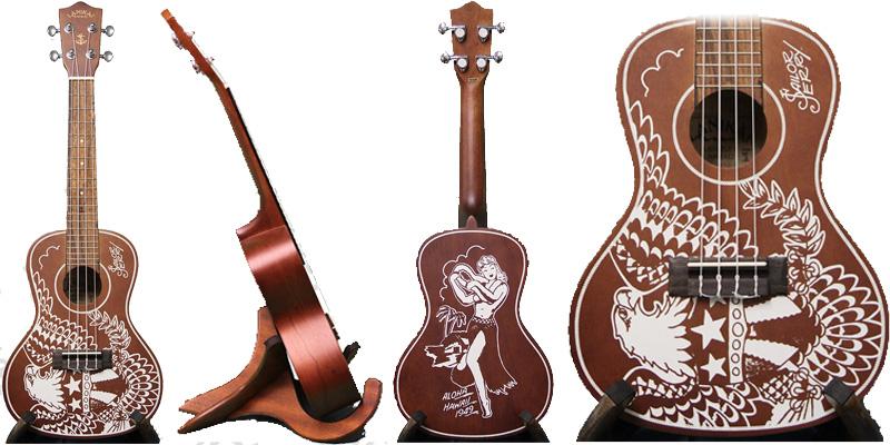 LUSJ-C Concert Mahogany Sailor Jerry
