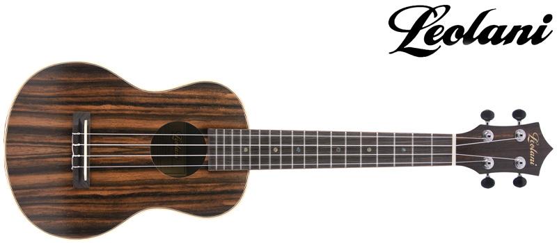 Leolani ukulele with logo