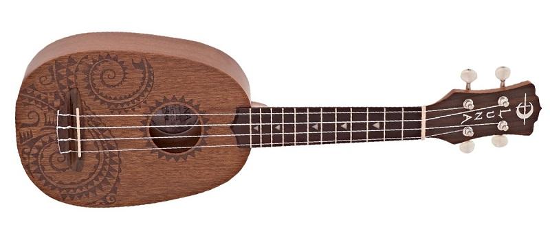 Luna Guitars Tattoo Pineapple Soprano Ukulele