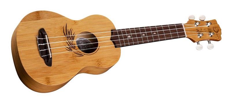 Luna Uke Bamboo Soprano Ukulele