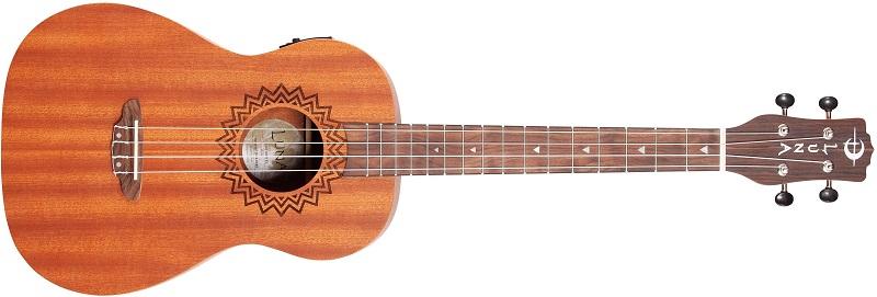 Luna Vintage Mahogany AcousticElectric Concert Ukulele