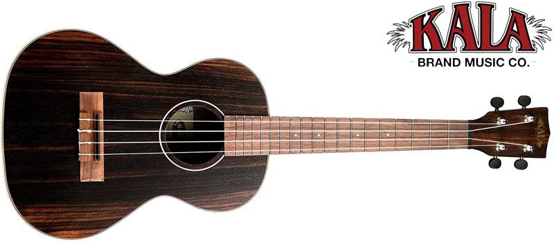 kala ukulele with logo