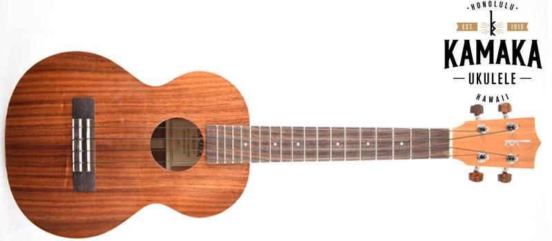 kamaka ukulele with logo
