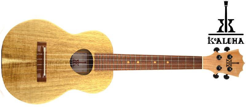 koaloha ukulele with logo