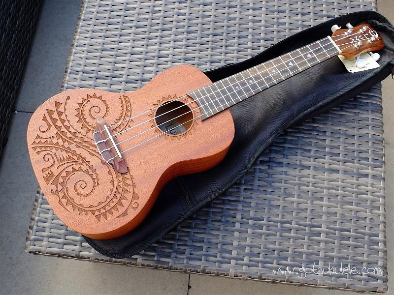 luna ukulele review tattoo