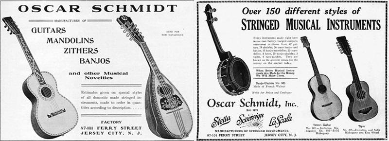 Oscar Schmidt Ukulele Review old models 3