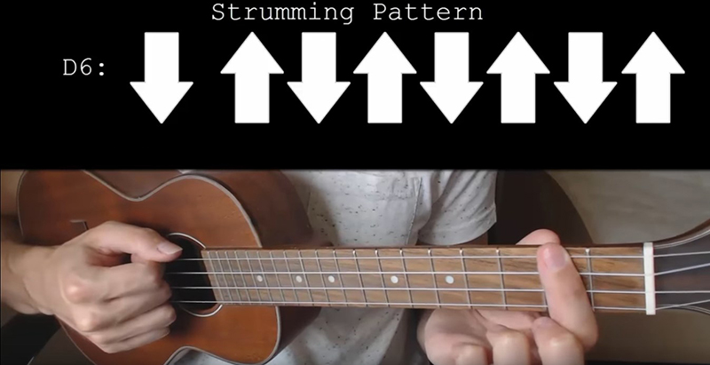 D6 strumming pattern