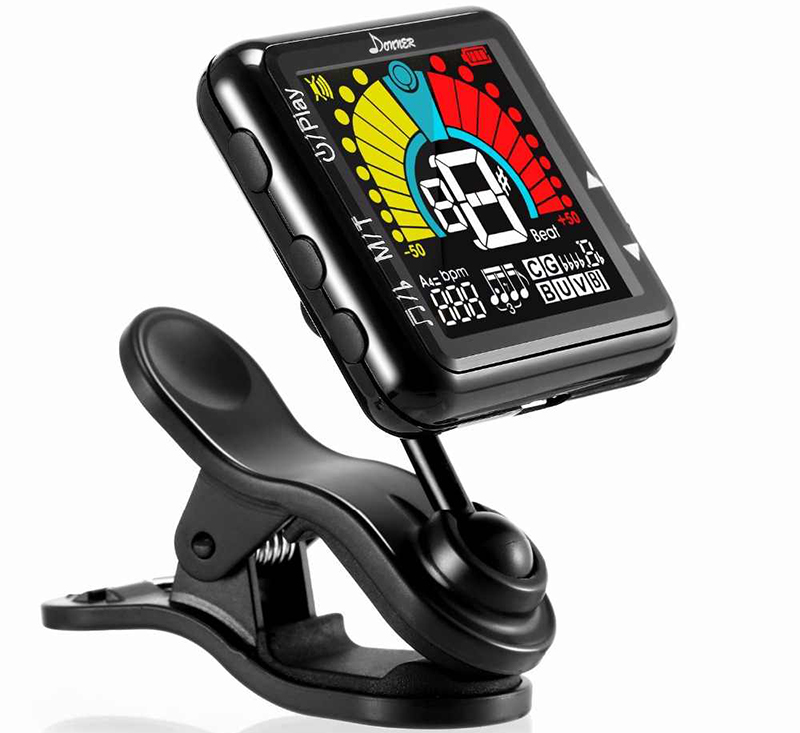 Donner Rechargeable clip On Tuner