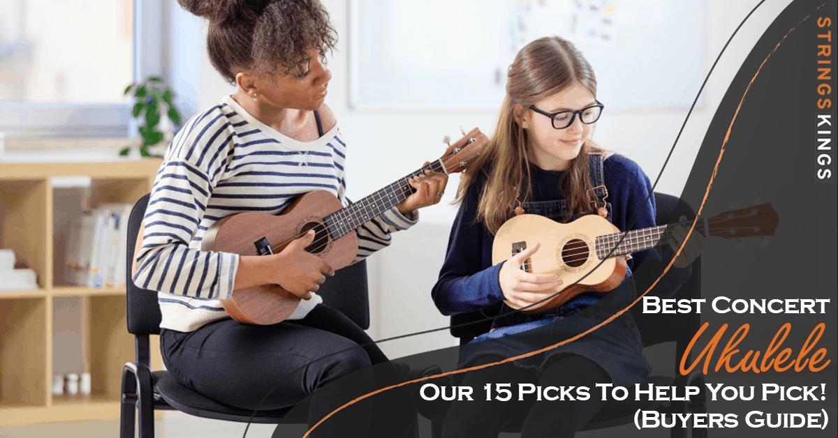 best concert ukulele feat