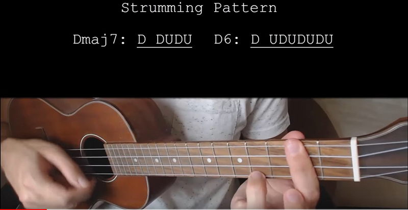 How to play lemonade on ukulele