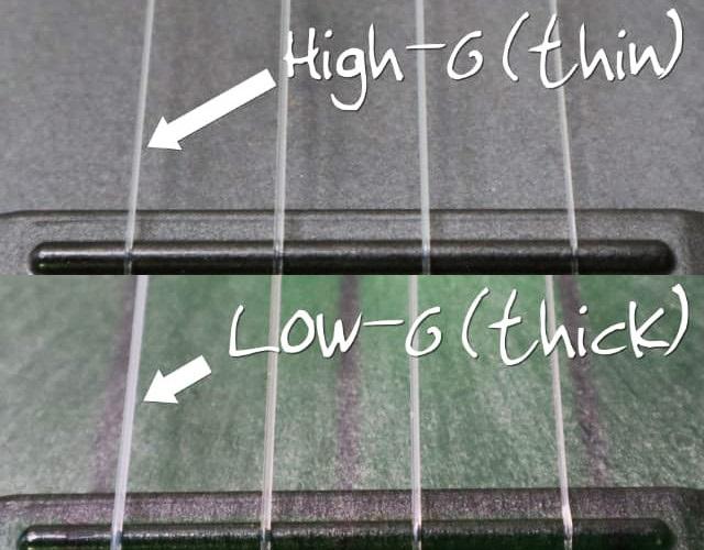 low-g-high-g-comparison