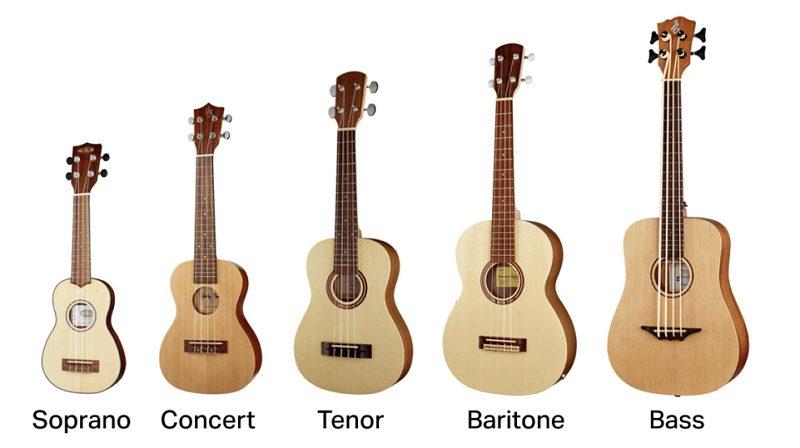ukuleles sizes