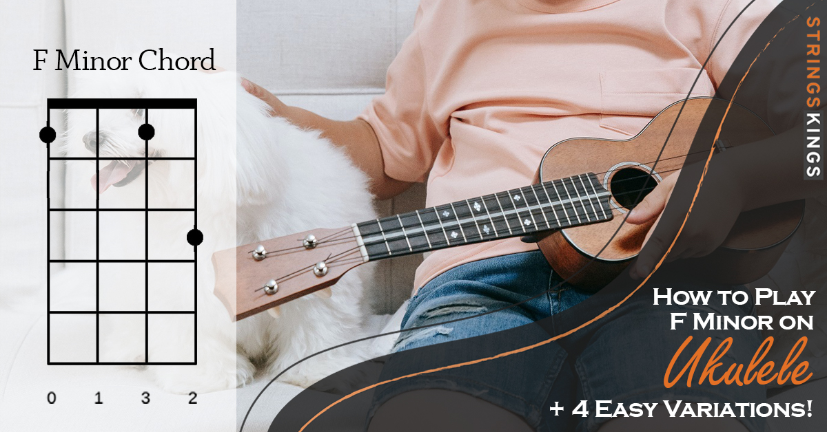 how to play f minor chord on ukulele feat