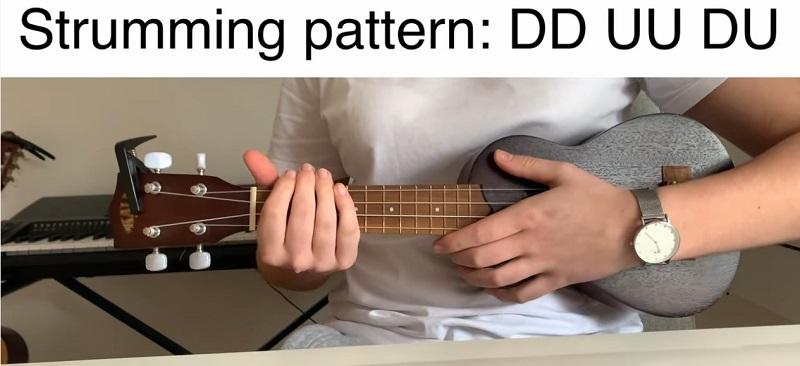 strumming pattern